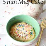Easy 5 minute mug cake recipe
