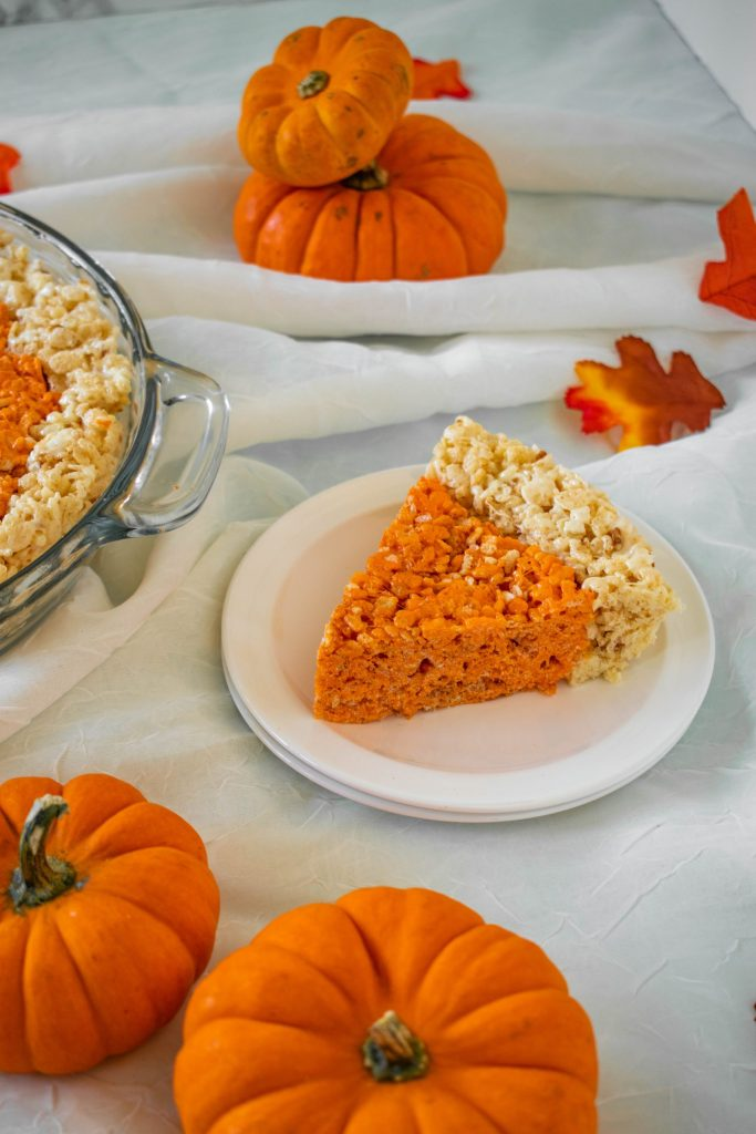 Rice Krispie Treats for Thanksgiving