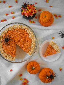 Pumpkin rice krispie for special events