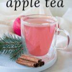 Apple peels tea